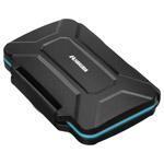 ハードメモリーカードケース SD12(SD/microSDカード用) ブルー