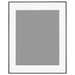 アルミ額縁「HFA-03」全紙サイズ ブラック