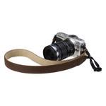一眼カメラ用ストラップ 本革ネックストラップ EB25 カラー:ブラウン