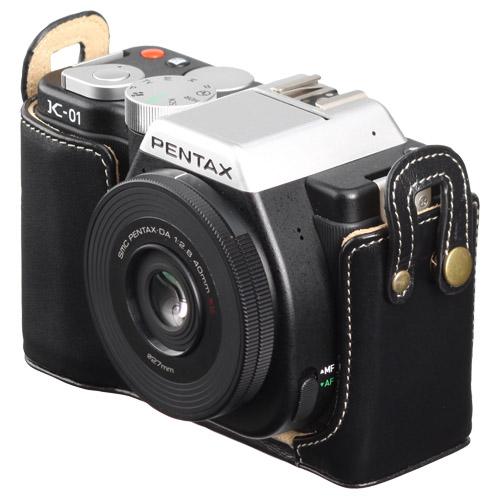 ピクスギア 本革ボディケース PENTAX K-01 専用