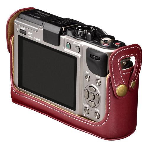 本革ボディケース Panasonic LUMIX GX1 専用 カラー:4色