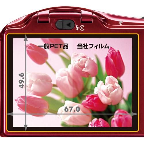 液晶保護フィルム Nikon COOLPIX L610 専用
