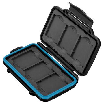 ハクバ ハードメモリーカードケース XQD6(XQDカード用)ブルー