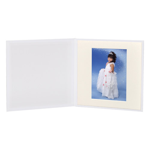 ハクバ スリムスクウェア台紙 A4Dサイズ 1面(角)