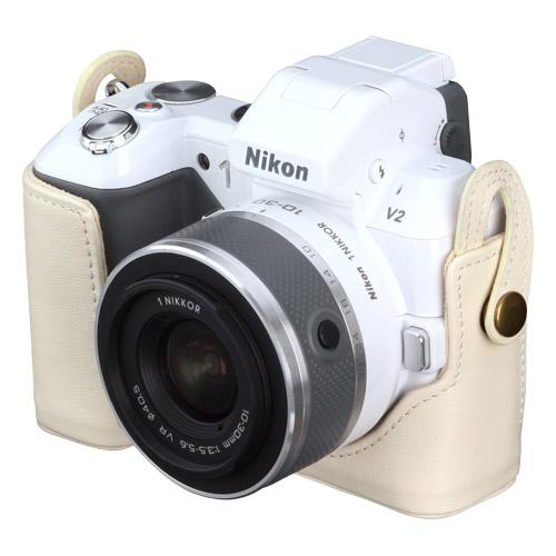本革ボディケース Nikon 1 V2 専用