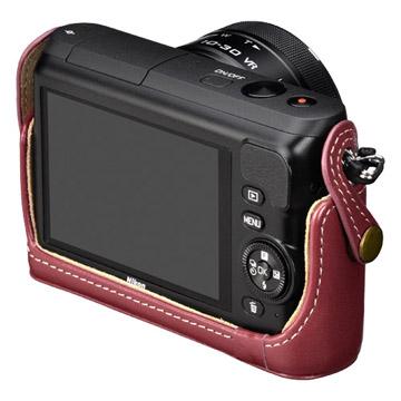 Nikon 1 S2 専用 本革ボディケース