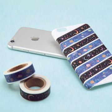 『包む』 マスキングテープ 使用例