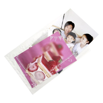 写真用ショーレックス袋 L/ポストカードサイズ