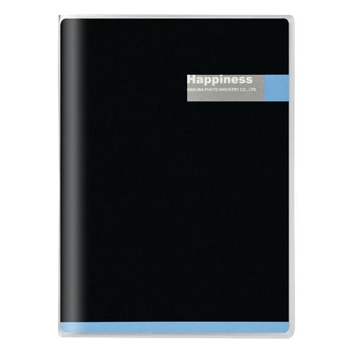 Pポケットアルバム 表紙:ブラック/ブルー